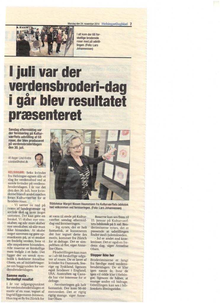 Anmeldelse fra Helsingør dagblad 24. november