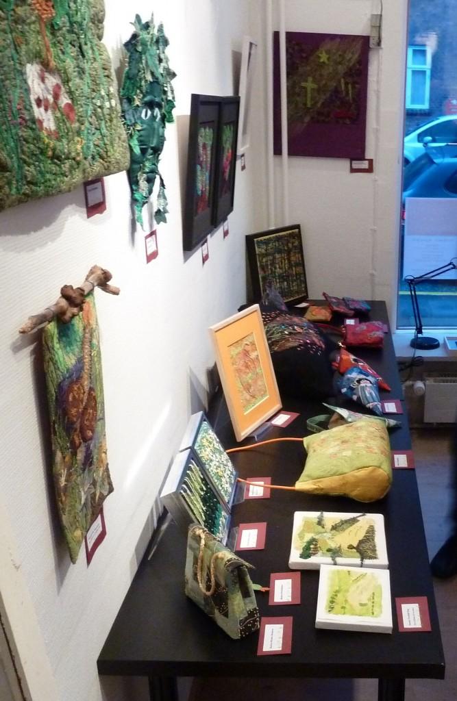 Et lille udsnit af udstillingen