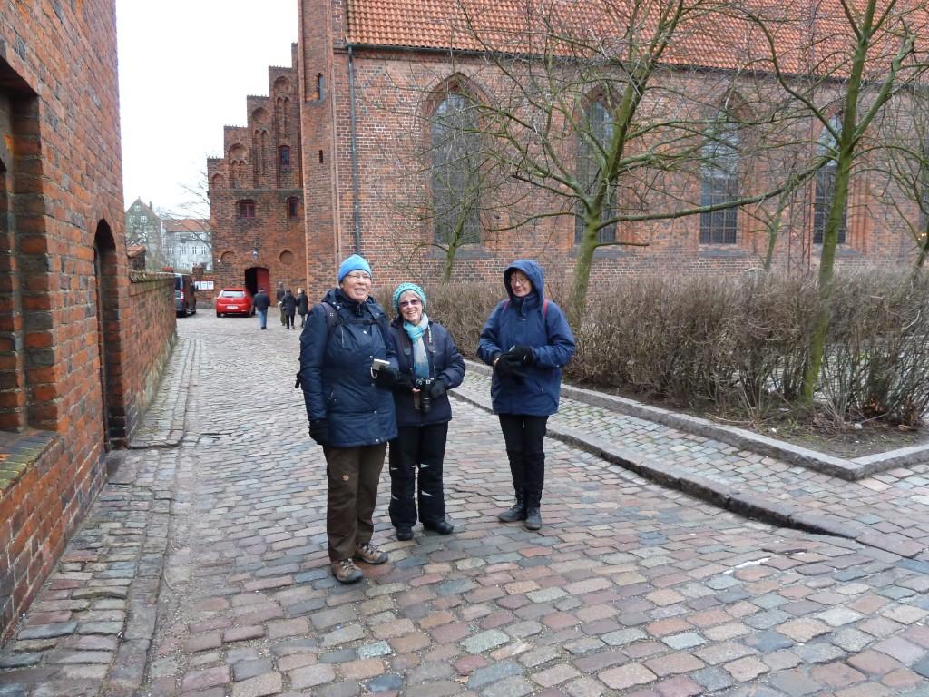 Bente, Annelise og Hanne